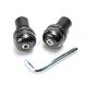 Carbon Fiber Look Bar Ends - 0800-1022