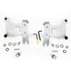 Polished Trigger-Lock Mounting Hardware for Bullet Fairing FX - MEK1975