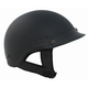 Flat Black Shorty Half Helmet
