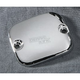 Chrome Smooth Handlebar Master Cylinder Cover - DS-373813