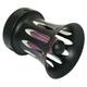 Black Custom Velocity Stack Air Cleaner - 629371