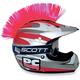 Pink Helmet Mohawk - PCHMPINK