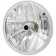 7 in. Wave-Cut Trillient Halogen Headlight w/Black Dot - T70400