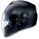 Black N43ET Trilogy N-Com Helmet