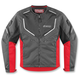 Charcoal/Red Citadel Jacket