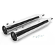 4 in. Big Louie Tip Compatible Slip-On Mufflers w/2-1/2 in. Baffle - 32005-250