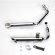 Staggered Slash-Cut Tips Exhaust System - 004-0814