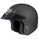 CS-5N Flat Black Open Face Helmet