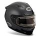 Black Vortex Snow Helmet with Electric Shield