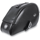 Drifter Rigid-Mount Teardrop Saddlebags w/Integrated LED Marker Lights - 3501-0463-LEB