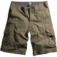 Military Slambozo Solid Shorts