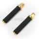 Brass Tracker Footpegs w/45 degree Male Mounts - 0035-1090