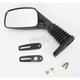 Black Universal Rectangular Mirror - 930030