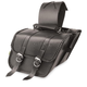 Compact Braided Slant Saddlebags - SB707B05