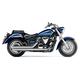 Slash-Down Hot Rod Speedster Exhaust - 2825