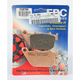 Double-H Sintered Metal Brake Pads - FA387HH