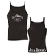 Womens Black Old No. 7 Cami