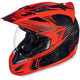 Red Carbon Cyclic Variant Helmet