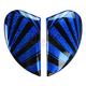 Blue Airmada Spaztyk Sideplates - 0133-0764