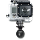 1 in. Diameter Ball with Custom GoPro Camera Adapter - RAP-B-202-GOP1