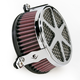 Chrome Spoke Air Cleaner - 06-0137-04