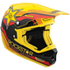 Red/Yellow/Black Mav-1 Rockstar V Helmet