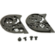 Black Base Plate Kit for HJC Helmets - 10-932
