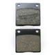 Organic Kevlar® Brake Pads for Custom Calipers - 1720-0198