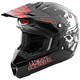 Youth Black/Red Broadcast Assault Helmet
