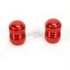 Red Valve Cap Kit - 15-36013