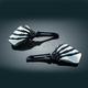 Black Skeleton Hand w/ Chrome Head Mirrors - 1764