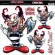 Ax Clown Decal - LT06043