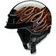 Orange Nomad Hellfire Helmet