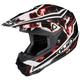 Black/Red/White Hydron CL-X6 Helmet
