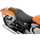 Predator Solo Seat w/Orange Flame and GT Stripe - 0804-0386