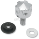 Six-Shooter Seat Mount Knob - 1/4 in.-20 - 0820-0035