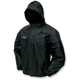 Black Pro Action Rain Jacket