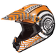 Youth Orange/Black/White Wanted CL-XY Helmet