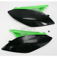 Black/Green Side Panels and Rear Number Plates - 2141730215