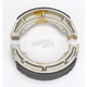 Sintered Metal Grooved Brake Shoes - 626G