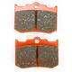Semi-Sintered (V) Brake Pads for Performance Machine 137 x 4B Caliper - FA216/3V
