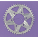 Silver Aluminum Rear Sprocket - 452A-43