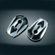 Ace of Spade Covers for OEM Mirrors - 1755