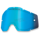 Mirror Blue Dual Vented Replacement Lens for Racecraft/Accuri Snow Goggles - 51006-022-02