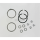 Graphite Wire Exhaust Port Gaskets and Chrome Acorn Nuts - 65324-83-KWG1