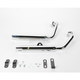 Staggered Dual Tapered Tips Exhaust System - 001-1121