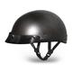 Gun Metal Metallic Skull Cap