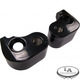 Black 1 in. Rear Lowering Kit - LA-7590-00B