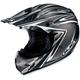 AC-X3 Agent Helmet /Adult/Silver/Black/Flat Silver/White/Female/Male