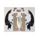 Batwing Black Trigger Lock Hardware - MEM8998